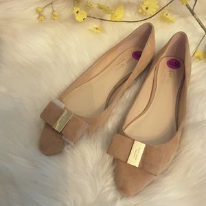 Kate Spade genuine suede flats shoes